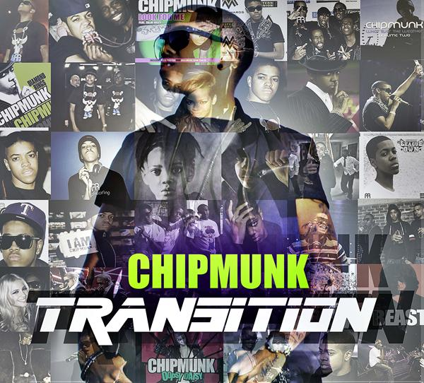 An Unofficial Artwork design for Chip's second album 'Transition' created by