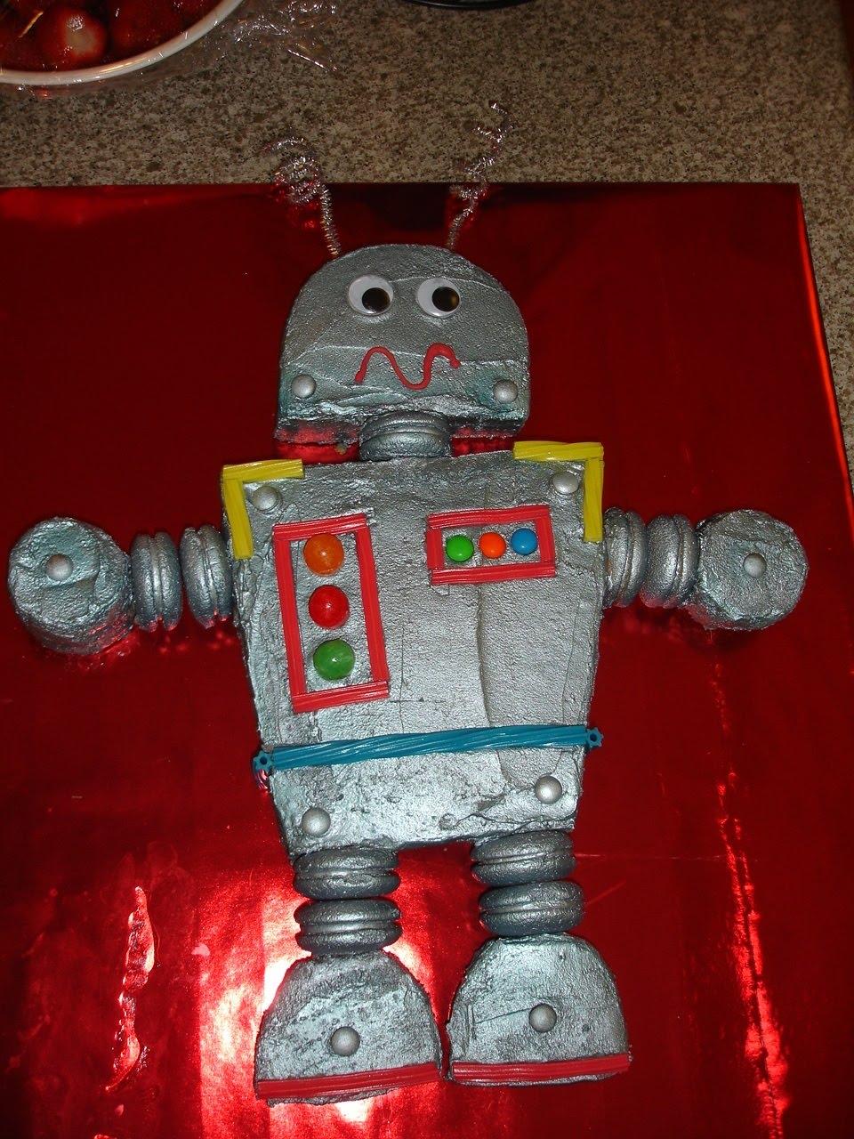 The Sugar Shack Robot Cake