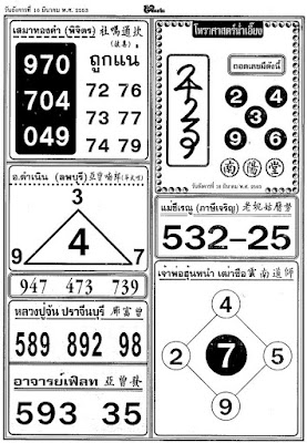 16 March 2010 Winning Lotto Numbers