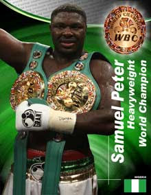 Samuel Peter Heavyweight Champion