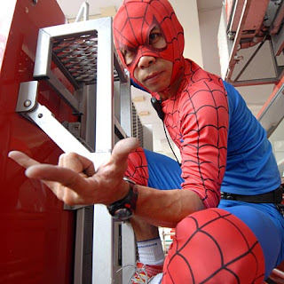 Thai Spider-Man rescues Autistic school kid