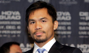 Manny Pacquiao in Thailand
