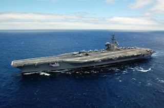 USS Ronald Reagan in Phuket
