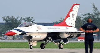 US Air Force Thunderbirds in Bangkok