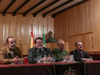 Beturia en la Real Academia de las Letras y las  Artes de Extremadura