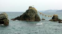 夫婦岩 (Wedded rocks) at 二見 (Futami)