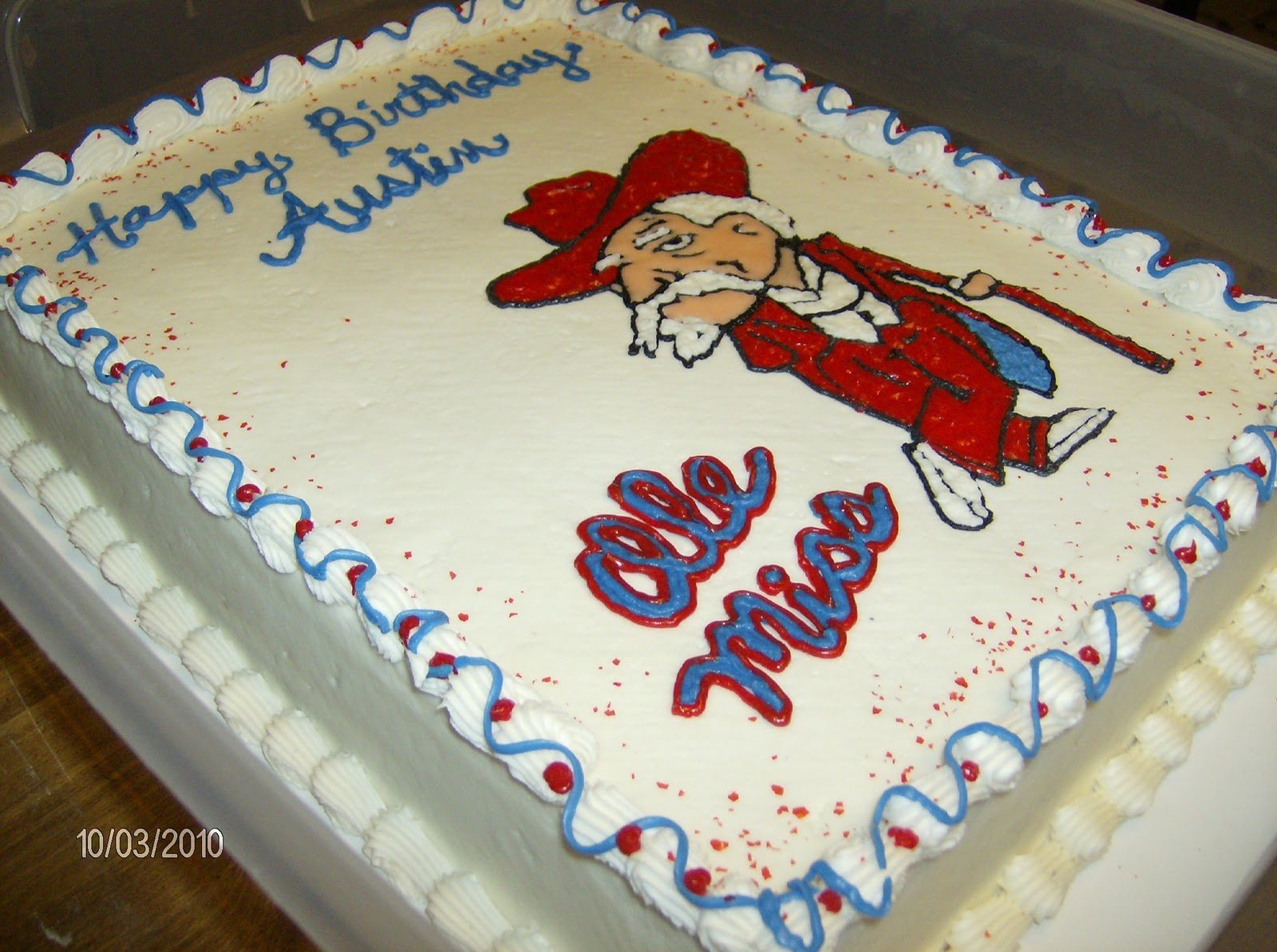 Simply Southern Ole Miss Cake And A Sneak Peek
