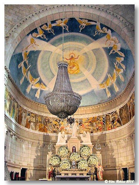 Cúpula da igreja de Santa Luzia