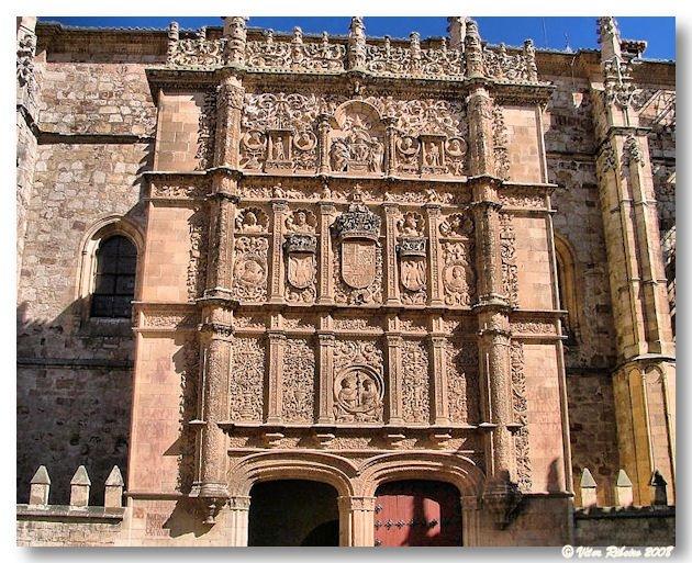 Patio de las escuelas em Salamanca