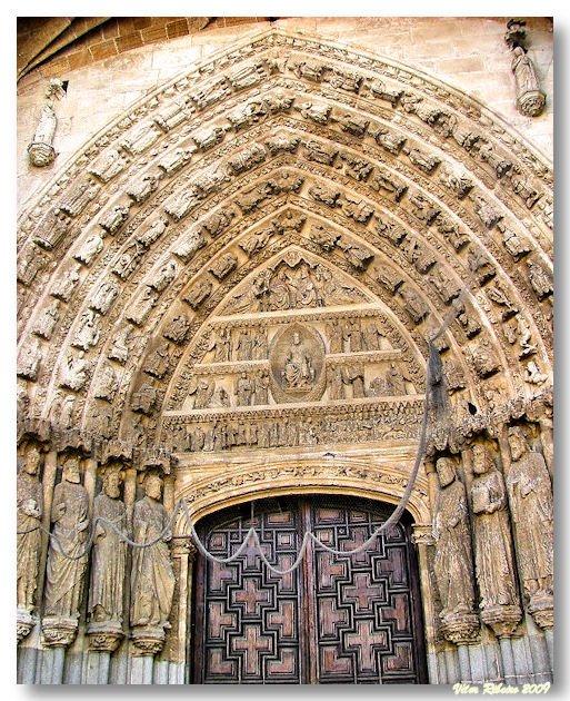 Portal Norte da Catedral de Ávila
