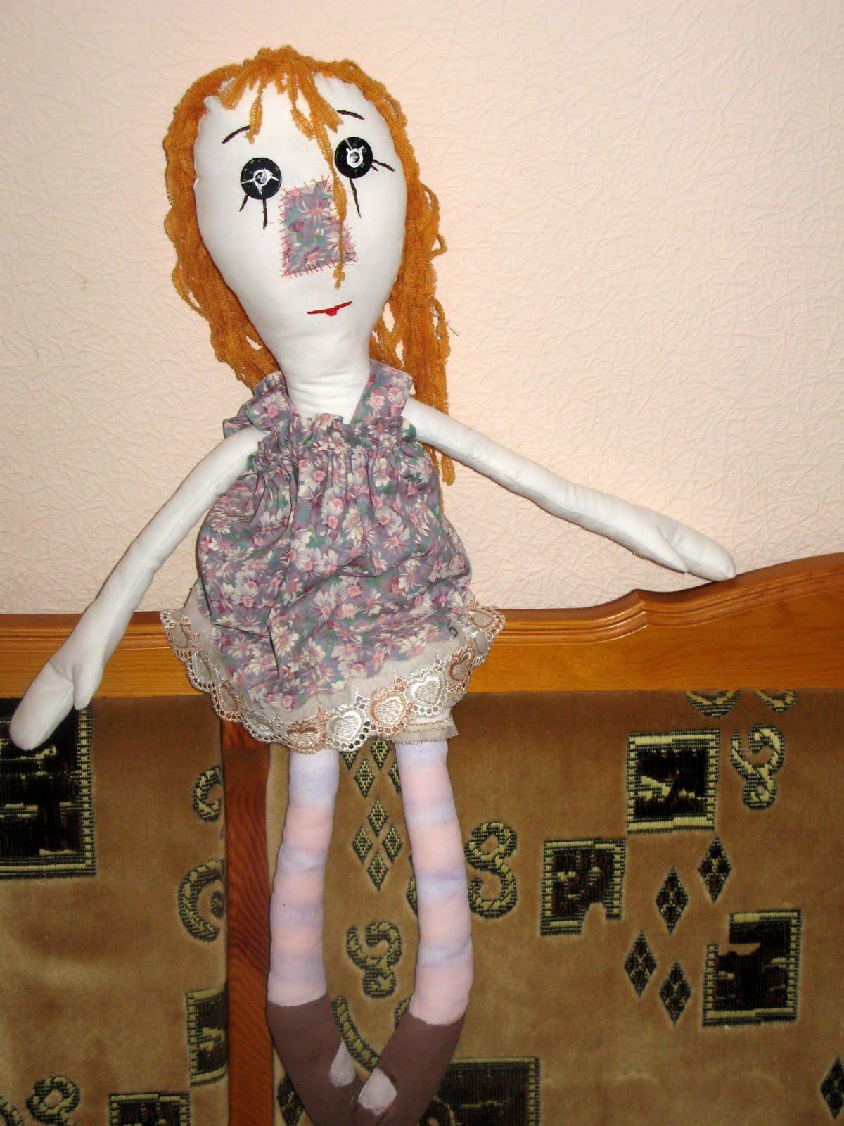 Тряпичная кукла-закрутка Страна Мастеров 38