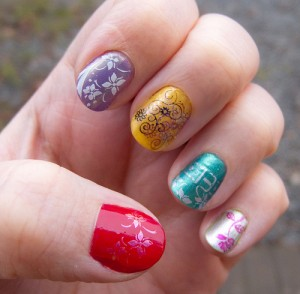 Decorar las uñas Decorar las uñas 28