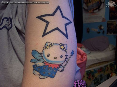 hello kitty tattoos for girls