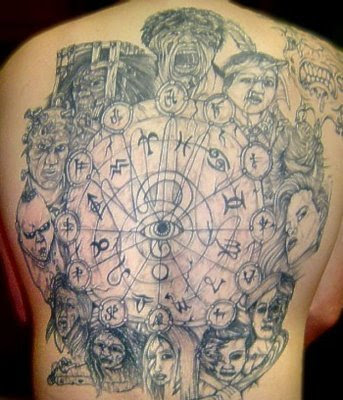 crazy tattoo. Tattoo