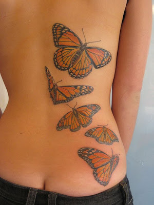 Tattoo Back Art and Design on Body