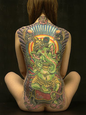 Back Art Tattoo