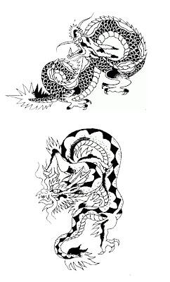 Tribal Tattoo Dragon,Dragon Tattoo,Art Tattoo,Design Tattoo