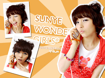 Wonder Girls Wallpaper Set 1