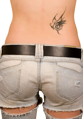 lower back female tattoo tribal Sexy girls