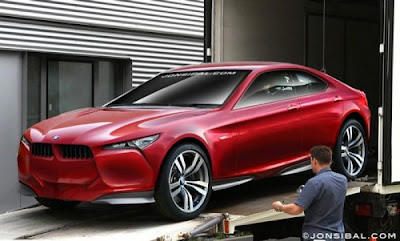 BMW Concept Vision Z rendering, sort of