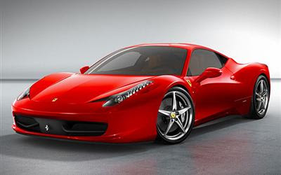Ferrari 458 Italia - official mini site launched