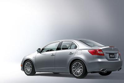 Suzuki 'Mondeo' revealed