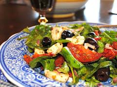 Tomato, Mozarella Salad