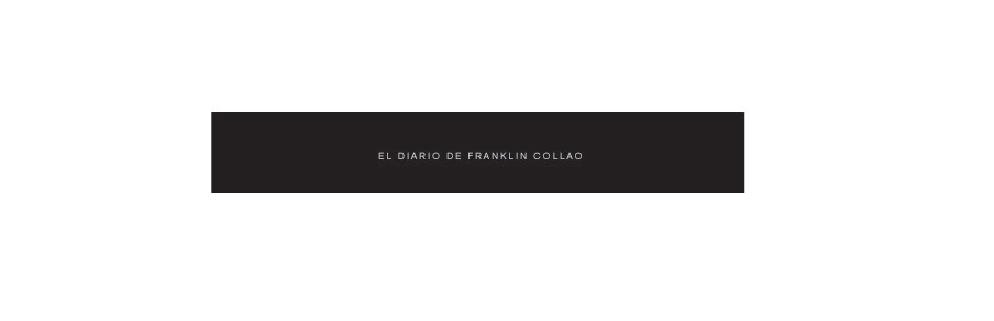 franklin collao diary BLOCKED