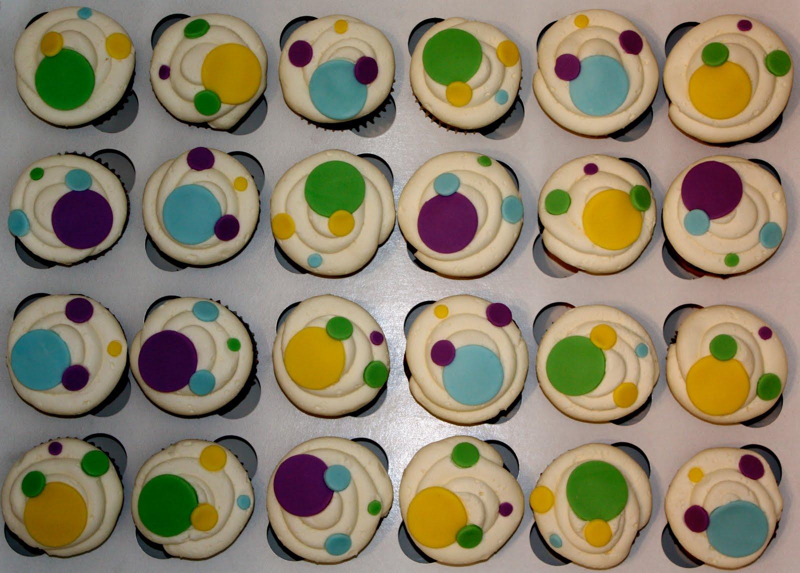 Polkadot Cupcakes