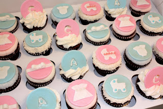 Bumble Cakes Twin Baby Blessing Christening Cupcakes For Two