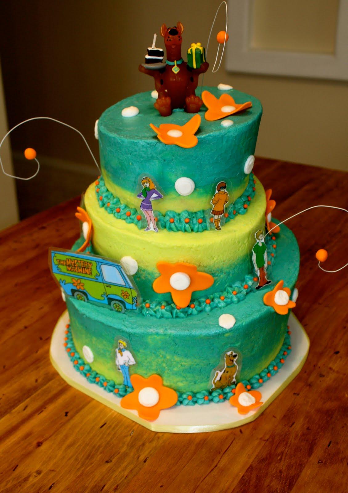 scooby doo cakes for birthday