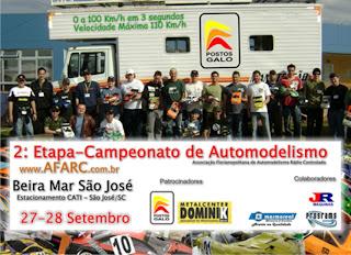 2ª Etapa - Campeonato de Automodelismo