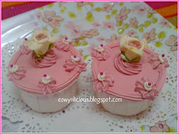 pinky cup cake