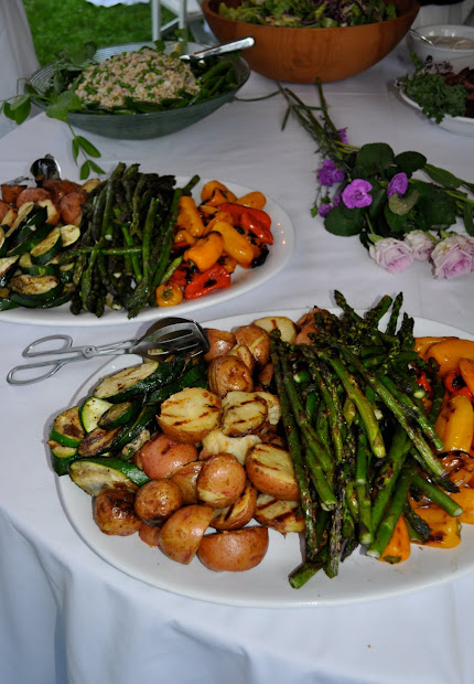 Summer Wedding Buffet Menu Ideas