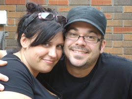 My Hubby & I....the day before our Wedding!