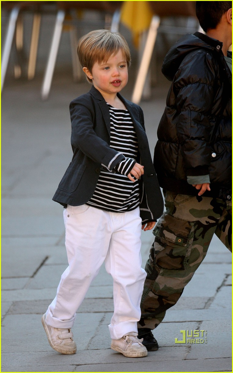 Nautical By Nature Nautical Outfit Of The Week Shiloh Jolie Pitt