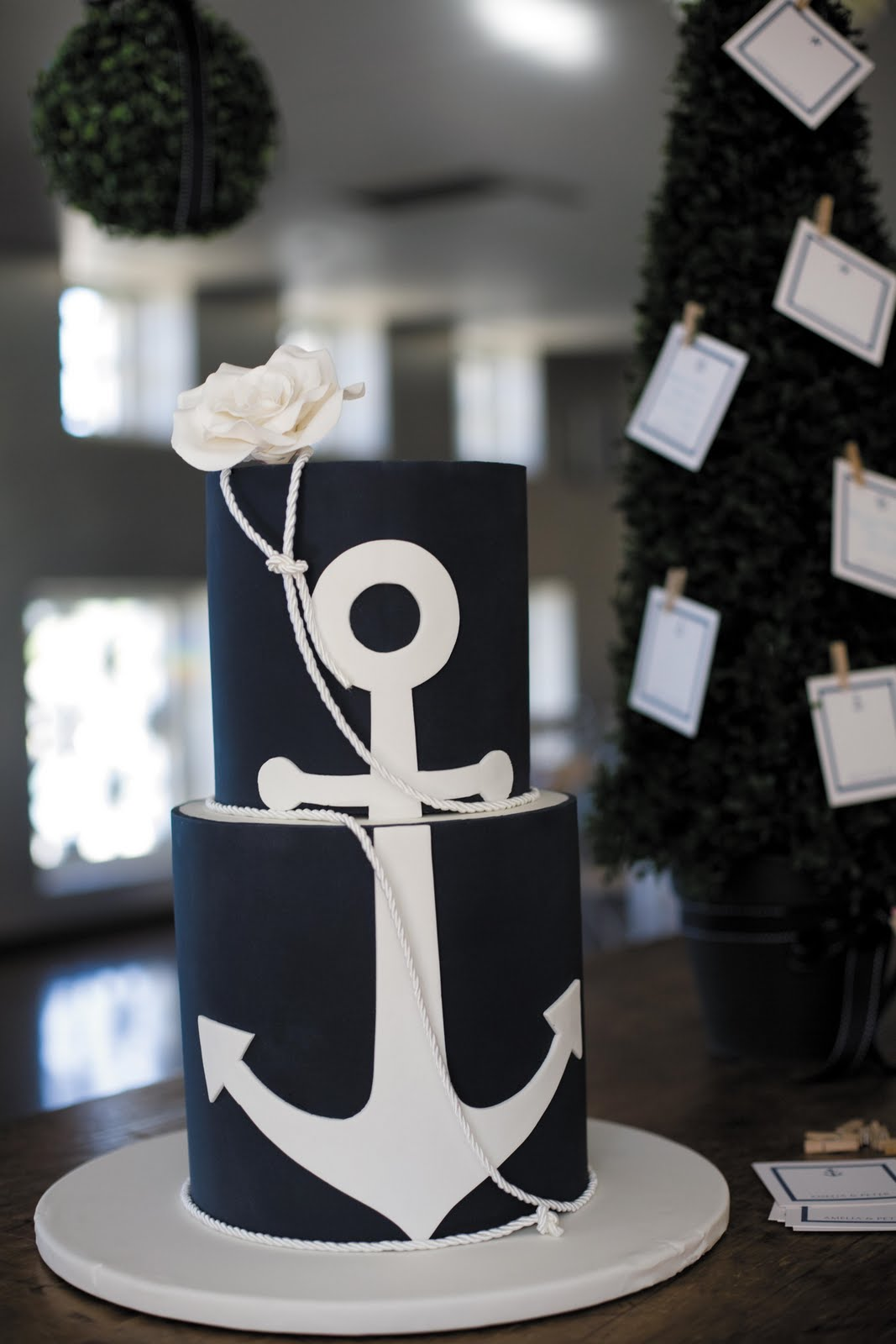 Nautical By Nature Nautical Wedding Cakes