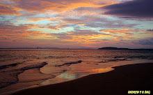 DUSK FROM PHRA NANG BEACH, KRABI, THAILAND