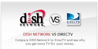 Dish network directv
