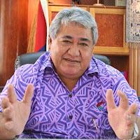 Tuilaepa Sailele Malielegaoi, Palemia of Samoa.