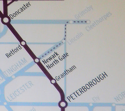 ... University England Map Newcastle. on map of east coast rail line uk