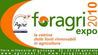 foragri expo la vetrina delle fonti rinnovabili in agricoltura