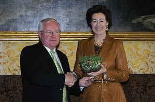 sindaco moratti e ministro dell'agricoltura irlandese