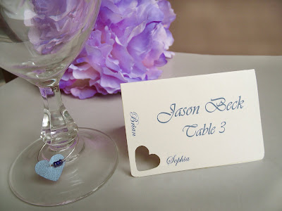 My wedding place cards featured on Etsy FP