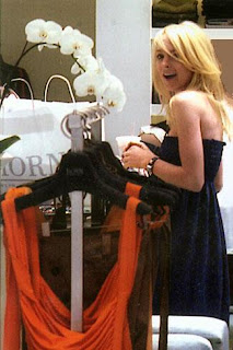 Lindsay Lohan | Shopping at Horn | Designer | Fashion | Womens | Clothing Boutique