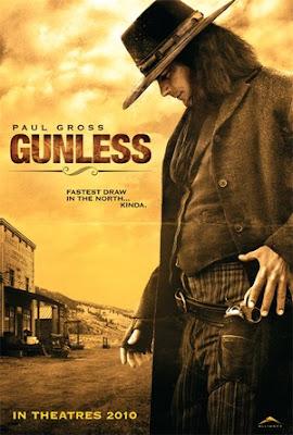 Filme Poster Gunless DVDRip H.264 Legendado