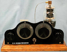 "Single ""1625"" Tube Regen. SW Receiver (Handmade)"