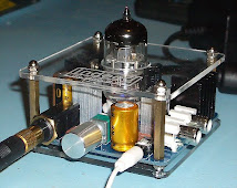 Indeed 6922 Tube Class A Headphone Amplifier