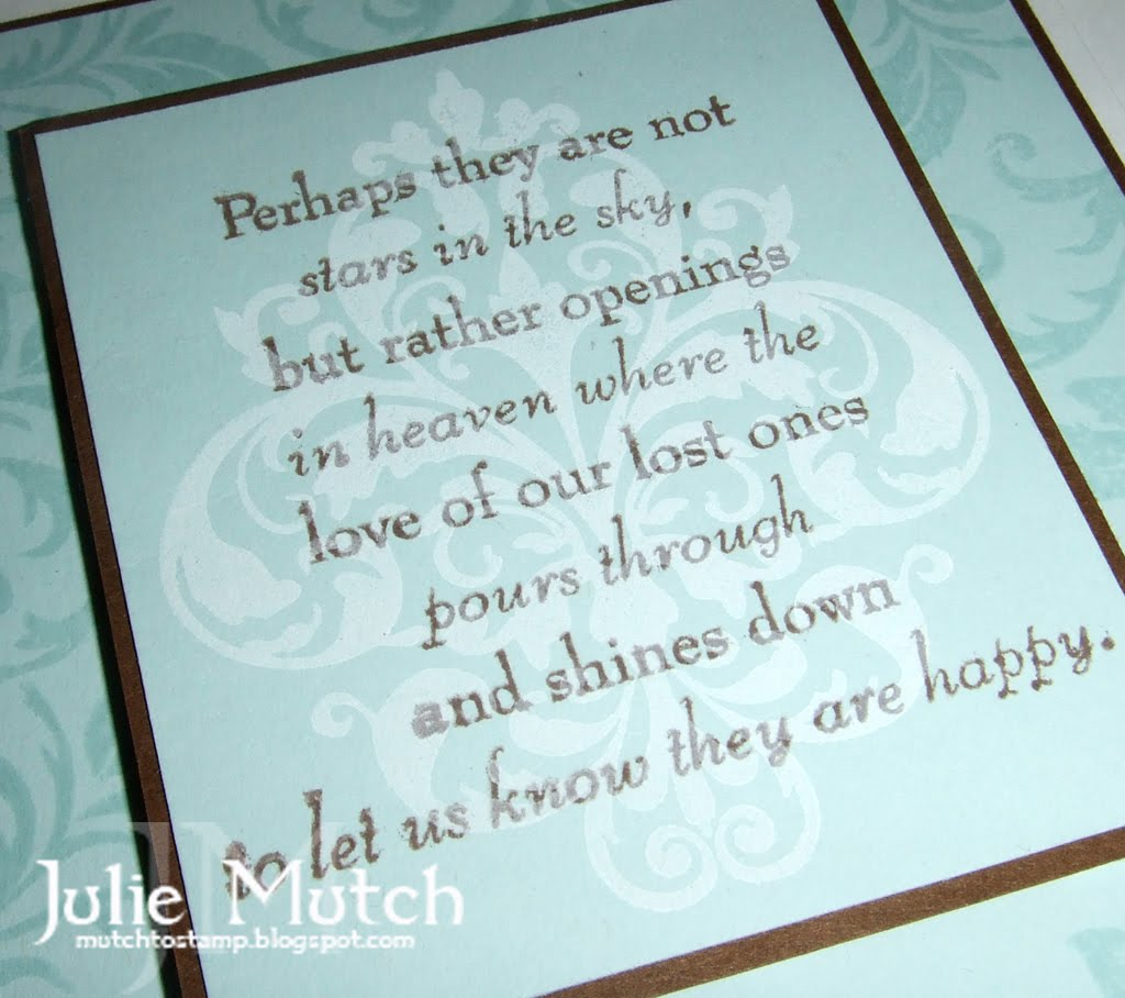 mutch to stamp eskimo proverb sympathy card