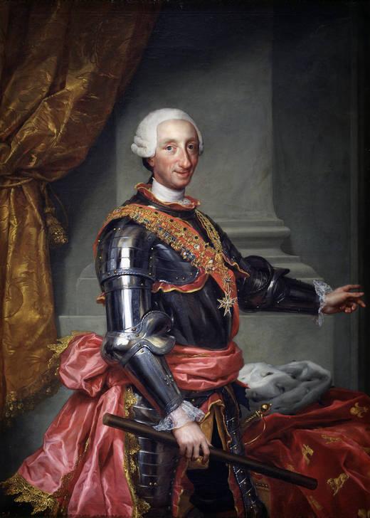 Retratistas del siglo XVIII en el Museo del Prado [Vol. I] Carlos+III+(Mengs,+Anton+Rafael)